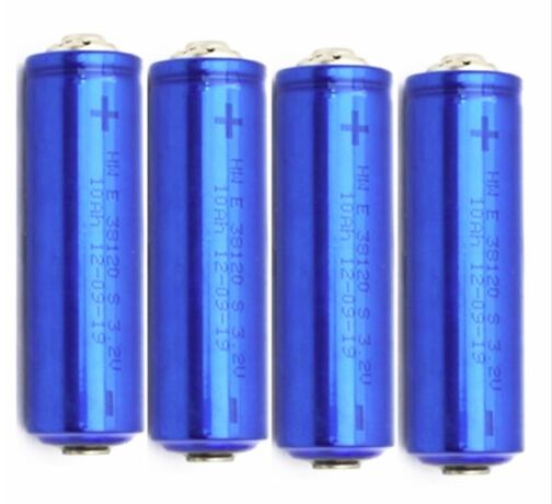 4pcs Top Quality 3.2V 10Ah <font><b>38120</b></font> 38120S LiFePO4 Battery Cell Ele Bicycle Battery For E Bike With Connector Support and Screw image