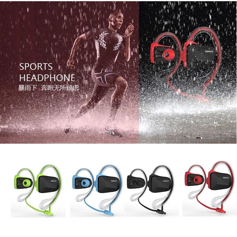 bilder für Original Jabees Bsport NFC Drahtlose Sport Bluetooth Headset Kopfhörer Stereo Sweatproof Wasserdicht Schwimmen Laufen kopfhörer