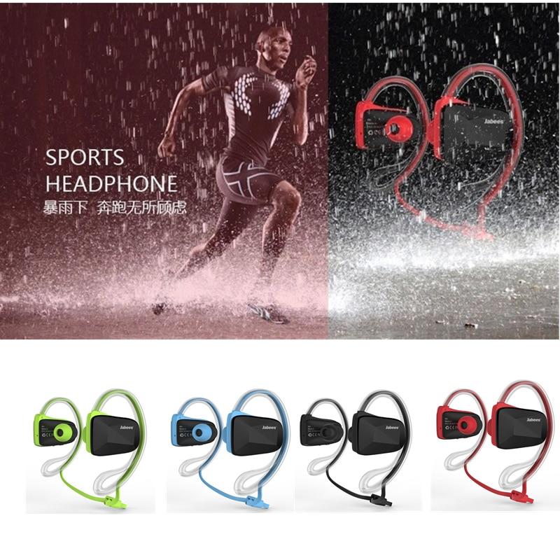 Original Jabees Bsport NFC Wireless Sports Bluetooth Headset Earphone Stereo Sweatproof Waterproof Swimming  Running headphone