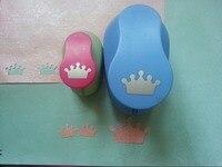 2pcs(5.0cm,2.5cm) Crown shape craft punch set Punch Craft Scrapbooking school Paper Puncher eva hole punch free shipping