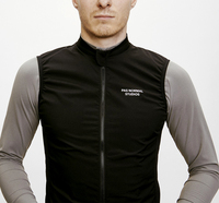 2018 Spring And Summer PNS Bicycle A Mountain Country Vehicle Full Black Ultrathin Exceed Light Windbreak Cycling Vest Reflect
