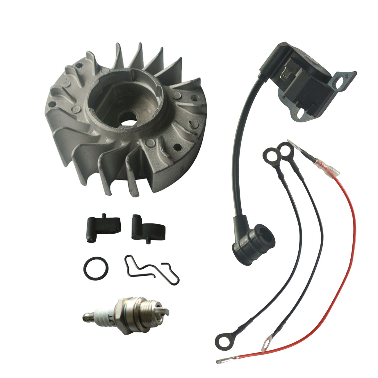 Ignition Coil Flywheel Switch Shaft Contact Spring fit Stihl 017 018 MS170 MS180