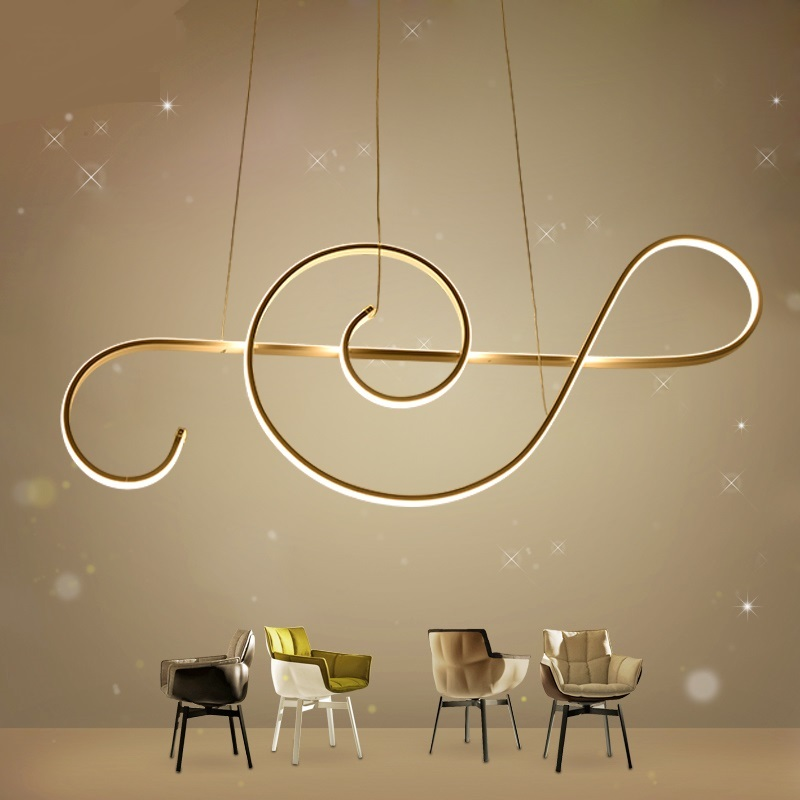 Post modern LED ceiling light simple LED childrens light character note cartoon lamp res ...