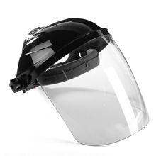 Новые прозрачные линзы анти-шок сварочные шлем Уход за кожей лица щит маски припоя Уход за кожей лица защиты глаз щит анти-шок