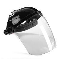 New Transparent Lens Anti UV Anti Shock Welding Helmet Face Shield Solder Mask Face Eye Protect