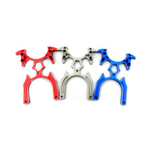 Aluminum Alloy TX Transmitter Bracket Stand Holder for JR / Futaba DX6 FF9 9X Remote Controller RC Quadcopter