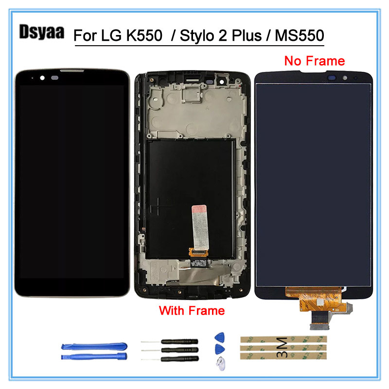 100% Tested Display For LG Stylo 2 Plus 4G K550 MS550 LCD Touch Screen Digitizer Replacement For LG Stylo 2 Plus No dead pixel100% Tested Display For LG Stylo 2 Plus 4G K550 MS550 LCD Touch Screen Digitizer Replacement For LG Stylo 2 Plus No dead pixel