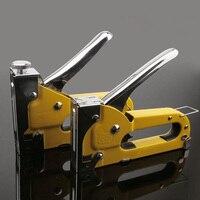 Conjuntos de Ferramenta de Mão Operado grampo Brad para a Fixação de Aço de Carbono Material da Decoração Móveis Carpintaria Portas CLH @ 8