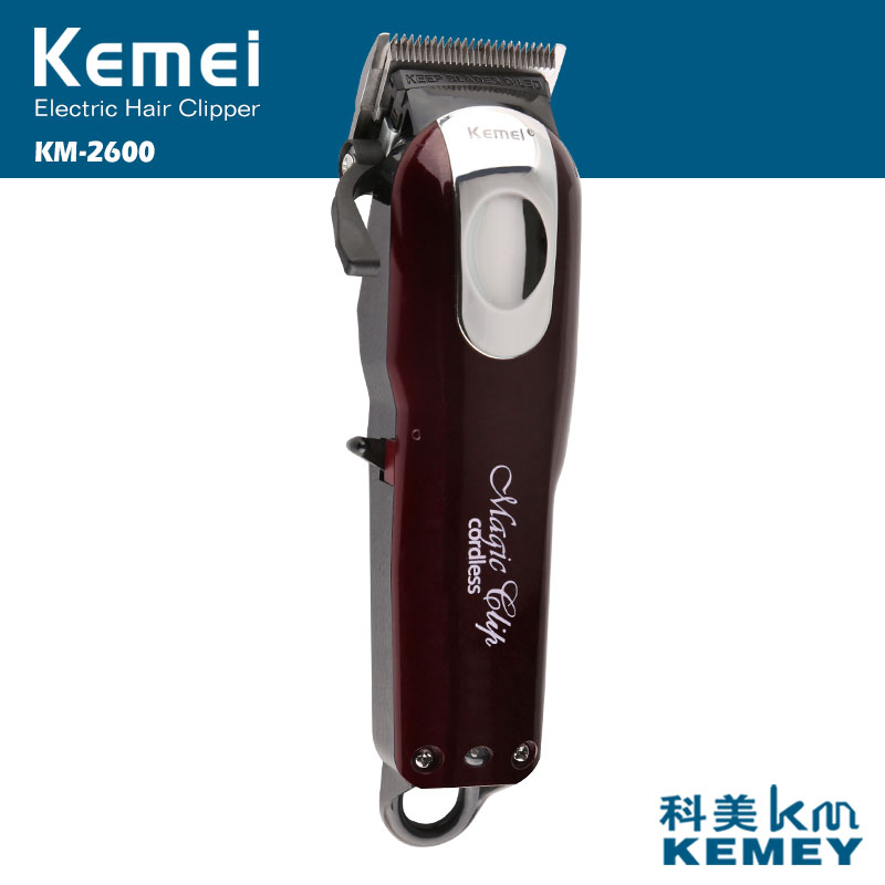 Kemei Electric Hair Trimmers, hair clipper,beard trimmer, Professional grade, barber shop use,Can charge