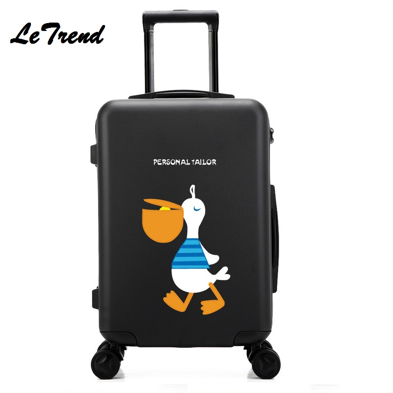 New!Fashion 20 Inches Trolley Boarding Case PC Colourful Travel Waterproof Luggage Rolling Suitcase Extension Spinner Box new 2024 inches business trolley case pc students travel luggage mute spinner rolling suitcase combination lock boarding box