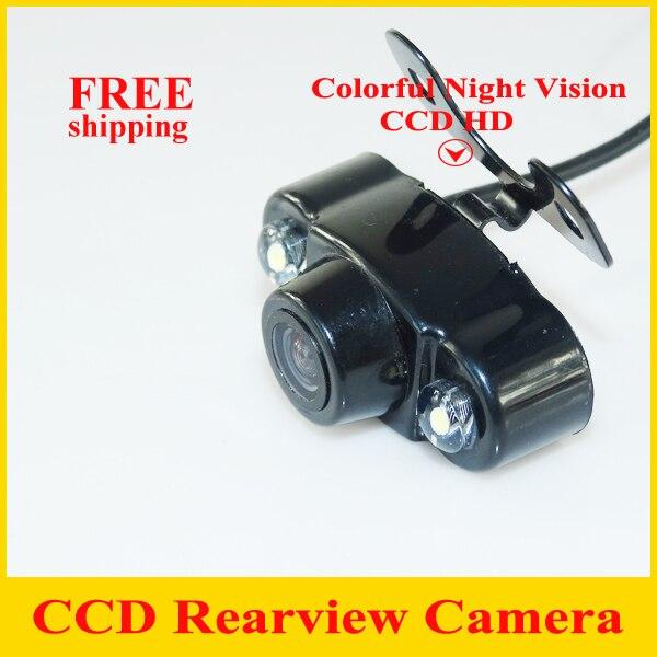 99d87e827aa1 CCD universal impermeable de HD cámara de visión trasera inversa para  estacionamiento sensor color 170 grados 12 V