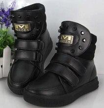 Дети ботинки мальчиков девочек теплые зимние сапоги мода удобные дышащий детская одежда обувь бесплатная доставка
