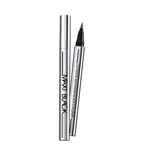 1 piezas final negro líquido delineador de ojos de larga duración impermeable delineador de ojos lápiz pluma buen maquillaje cosmético herramientas