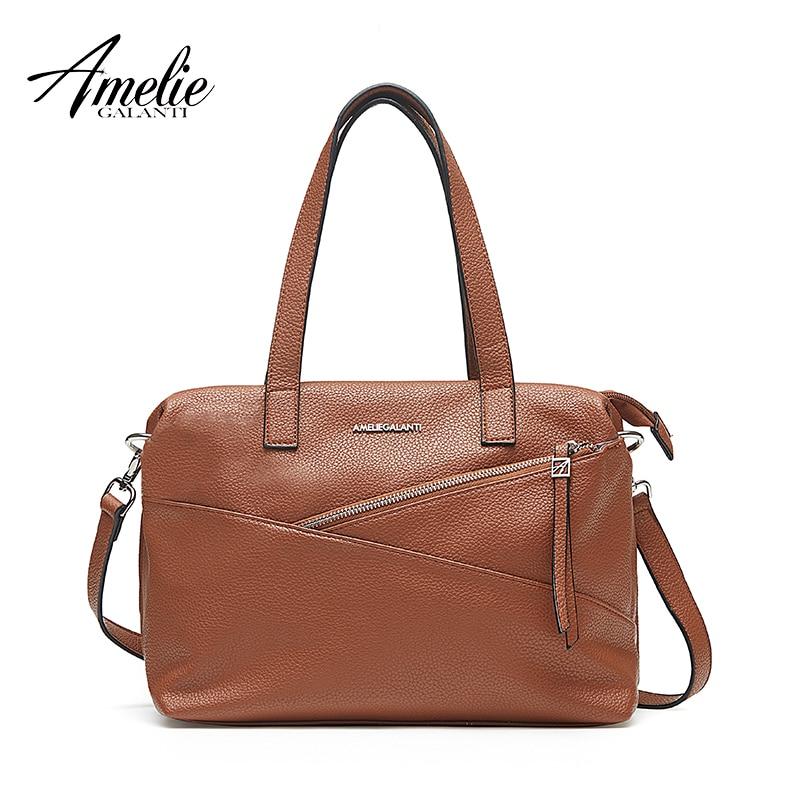 Ladies Amelie Coral//Black//Beige Handbag JBFB12