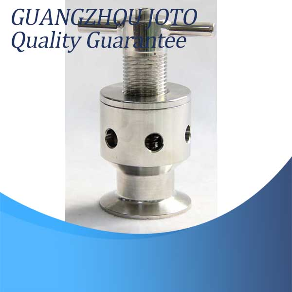 304 Stainless Steel Quick Assembly Exhaust Valve 0.2MPA Manual Quick Connect Breathing Valve