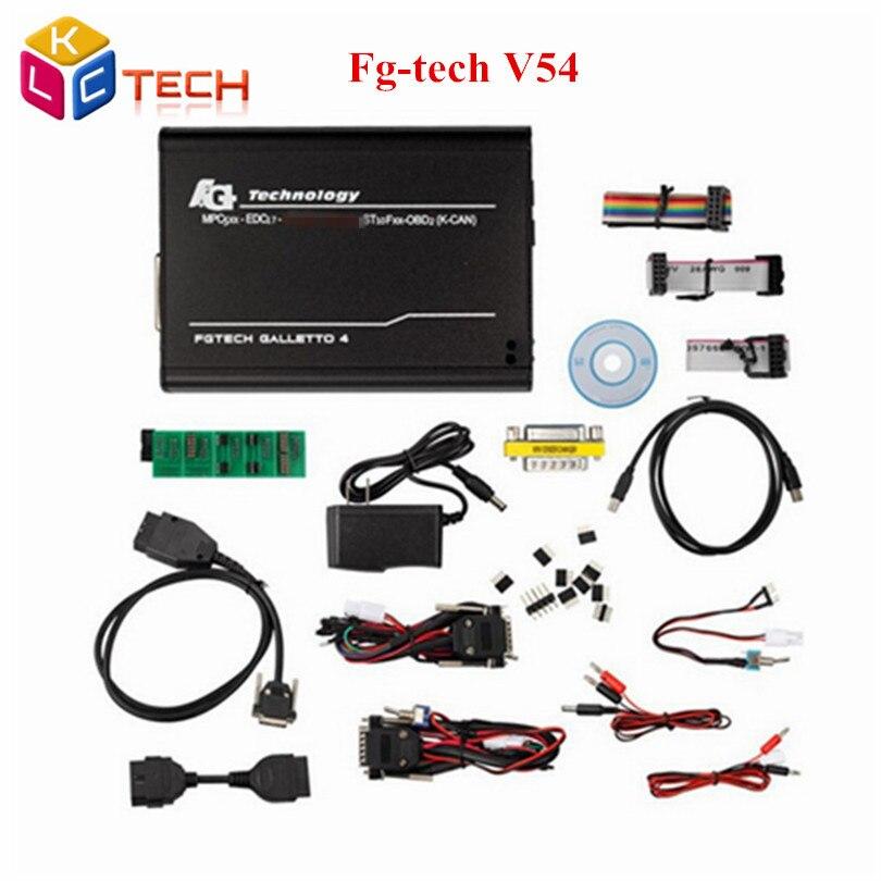 Prix pour V54 FGTech Galletto 4 Maître FG TECH Maître OBD2 Chip Tuning Soutien BDM Fuction Livraison Gratuite