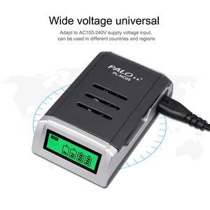 Image 5 - PALO LCD Display Intelligente Smart Batterie Ladegerät für AA / AAA Akkus 1,2 V Ni Cd Ni Mh batterie