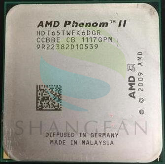 AMD Phenom X6 1065T X6-1065T 2.9GHz Six-Core CPU Processor  HDT65TWFK6DGR 95W Socket AM3 938pin wavelets processor