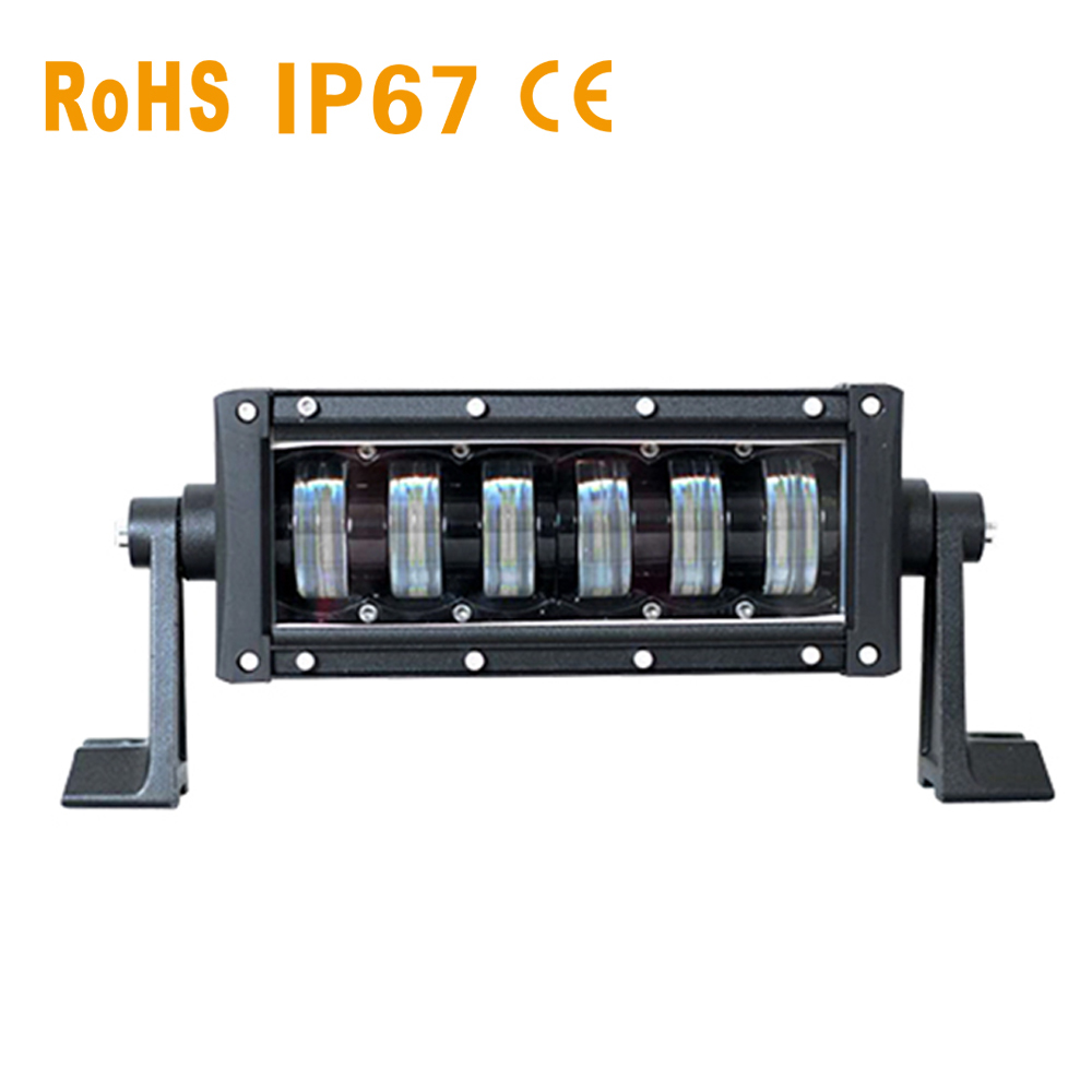 10.6 48W LED light bar high low beams 6000k car worklight for offroad truck auto lamp SUV ATV UAZ driving fog lamp spot 12V 24V цена
