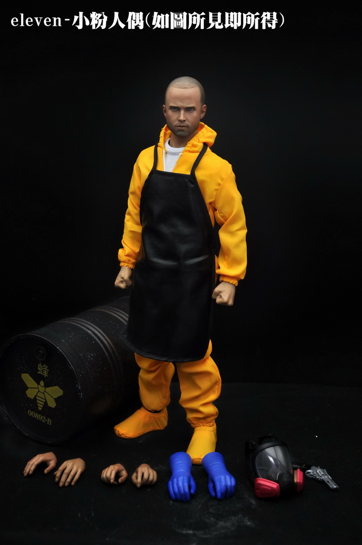 1/6 scale figure doll Breaking Bad Jesse Pinkman 12 Action figure doll Collectible figures Plastic model toys,No box 1 6 scale figure doll black detective 12 action figure doll collectible figure plastic model toys no box