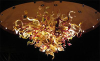 Wholesale Handmade Murano Glass Chandelier For High Ceiling