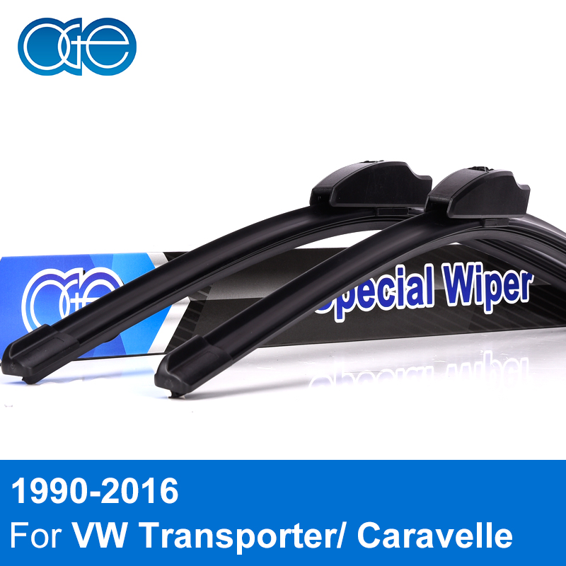 Oge Wiper Blades For VW T5 Transporter / Caravelle / California Windscreen Natural Rubber Car Accessories wiper blades for volkswagen t5 transporter 24