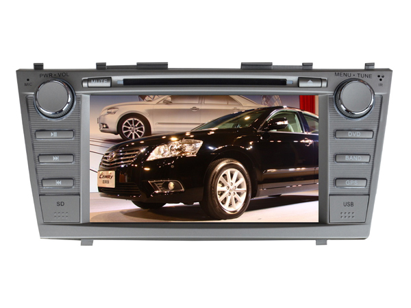free shipping 8Inch Car DVD Player for Toyota Camry 2007 2008 2009 2010 2011 with Bluetooth GPS Navigation Radio FREE Map camera