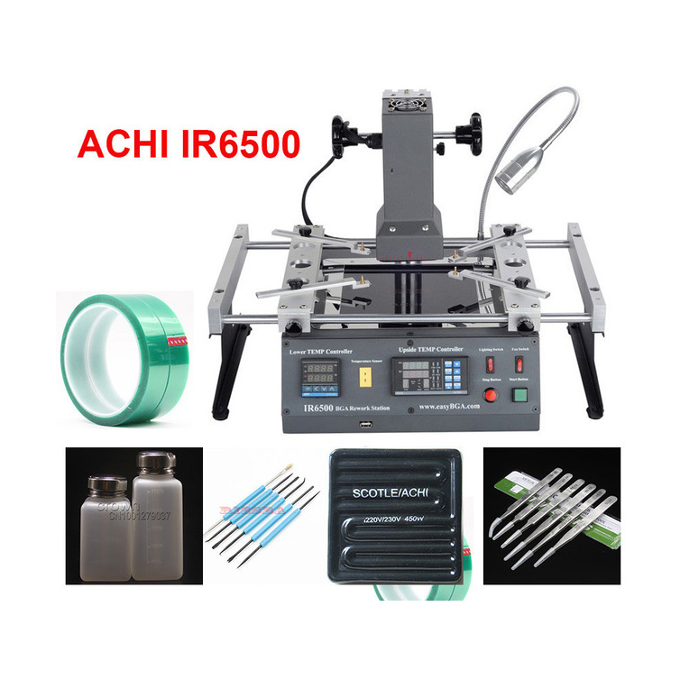 цена ACHI IR6500 infrared BGA Soldering Rework Station Flux