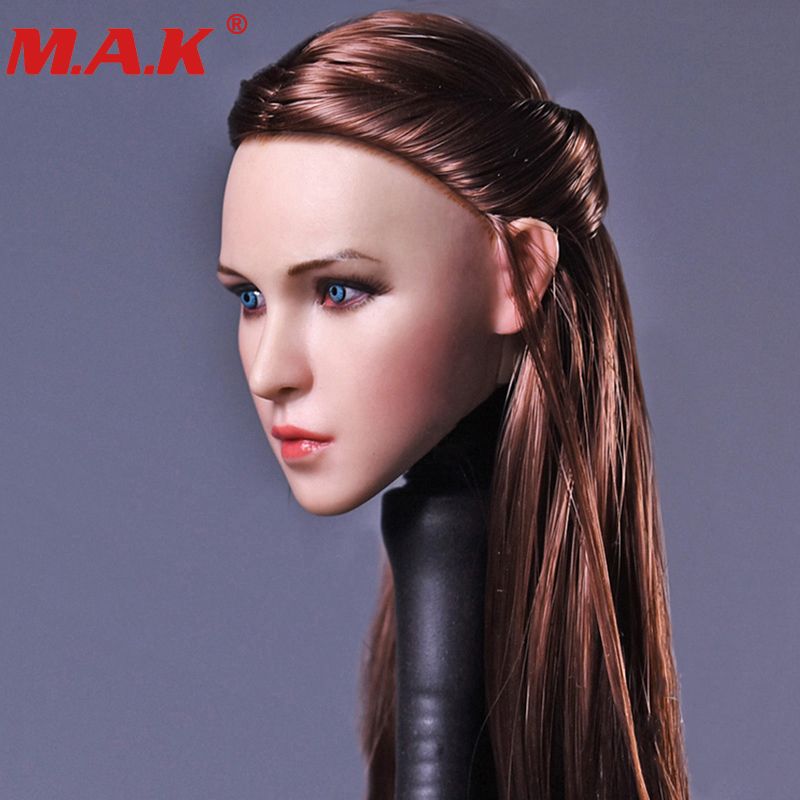 NEW kumik  1//6 golden implanted hair The beauty headplay