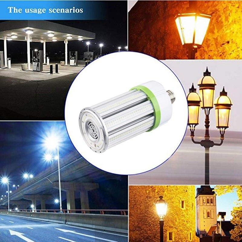 Lampe épis de maïs LED 150 W E26 E39 LED ampoule de maïs 5000 K 130LM/W lampadaire LED lumens élevés pour les routes, les rues, les ponts, les autoroutes - 6