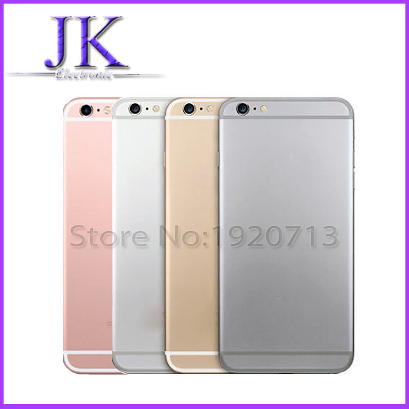 Metal Back Battery Case Housing Cover Door Frame For Apple iPhone 6 4 7 inch i6