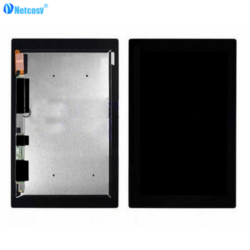 Netcosy For Sony Z2 Tablet LCD screen High quality LCD Display Touch Screen Assembly for Sony Xperia Z2 Tablet 10.1 pcu p247a high pressure bars for lq104s1lg61 lcd display screen