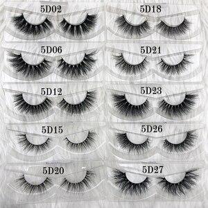 Image 4 - Wholesale Free UPS 50 pairs Mikiwi Eyelashes 3D 5D  Mink Lashes Handmade Dramatic Lashes 80 styles custom logo label lashes