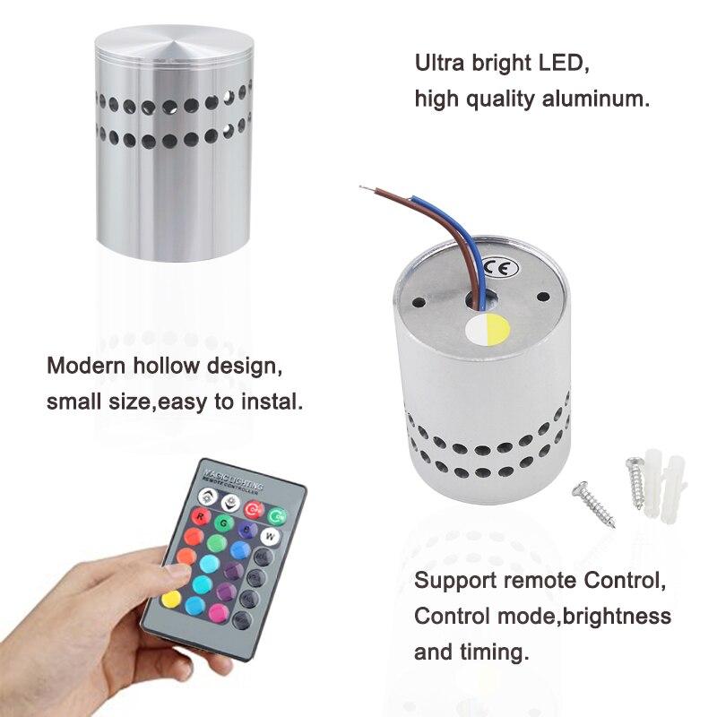 Lâmpadas de Parede arandela ac85-265v de alumínio parede/montagem Sombra : sem Sombra