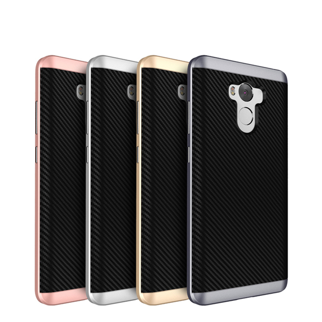 For Xiaomi Redmi 4 Pro Luxury Case PC+TPU Case with Frame Shock Proof Phone Case Back Cover for Xiaomi Redmi4 Pro Prime