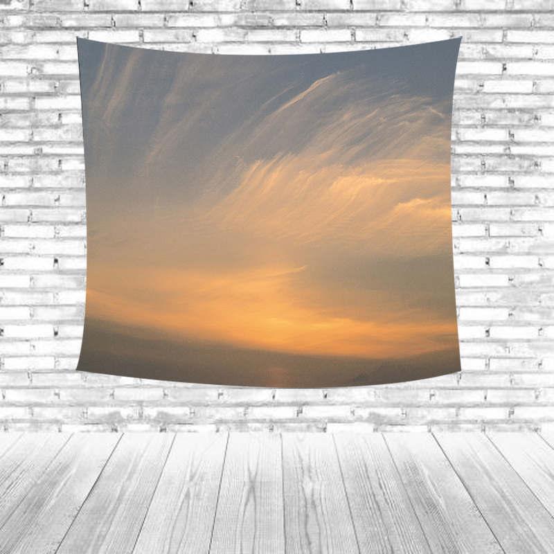 Продвижение вечернее небо Полотенца красочные небо облака закат Дизайн Полотенца коврик открытый коврик для пикника фермеров Гостиная дек...