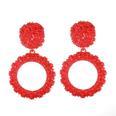 9bf651292850d Pk Bazaar jewellery round vintage earrings for women gold color big ...
