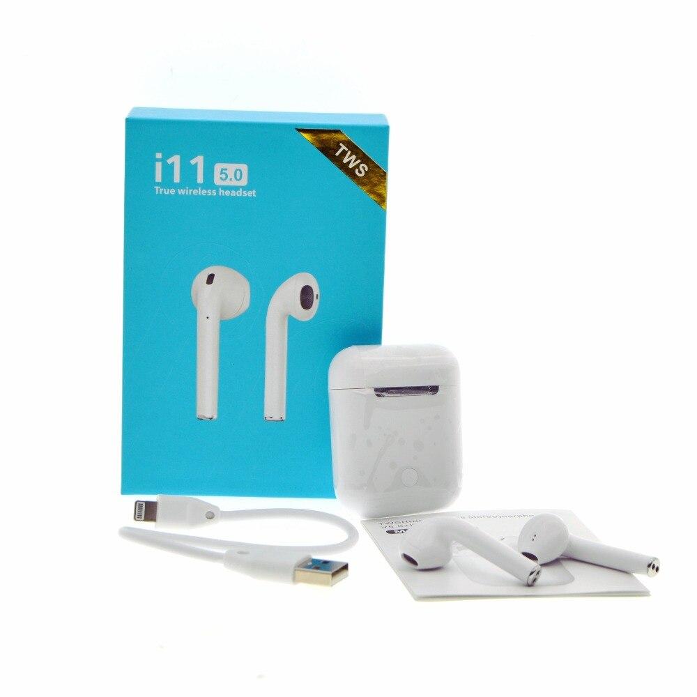 Hxairt i7s i9s i11 TWS Mini Drahtlose Bluetooth 5,0 Kopfhörer Stereo Ohrhörer Headset Mit Lade Box Mic Für Alle Smart telefon