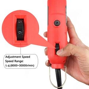 Image 3 - NEWACALOX EU/UNS 220V 260W Mini Elektrische Drill Variable Speed Grinder Schleifen Maschine Gravur Zubehör Dremel Rotary werkzeuge