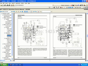 Massey Ferguson Repair Manuals USA 2020 NA