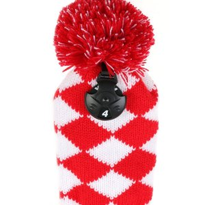 Image 5 - 4psc/set  Abstract Pattern Knit Golf Club Head Cover for Driver Wood (460cc), Fairway,Hybrid with Number Tag