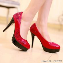 ปั๊มรองเท้าผู้หญิงสิทธิบัตรหนังใหม่31 32 33 47 46 45 44 43 42 41 40ส้นสูง10เซนติเมตรแพลตฟอร์ม2.5เซนติเมตร30-48