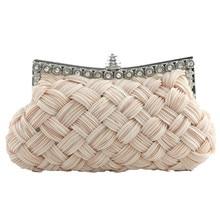 2017 Fashion Satin Envelope messenger solid color luxury handbags women bags designer girls gift bolsas feminina wholesale