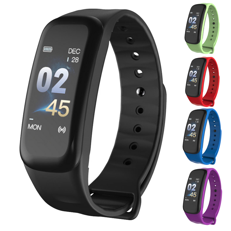 RUIJIE C1Plus Fitness Smart Bracelet Color Screen Blood Pressure Oxygen Heart Rate Monitor Men Sport Smart Band for Android IOSRUIJIE C1Plus Fitness Smart Bracelet Color Screen Blood Pressure Oxygen Heart Rate Monitor Men Sport Smart Band for Android IOS