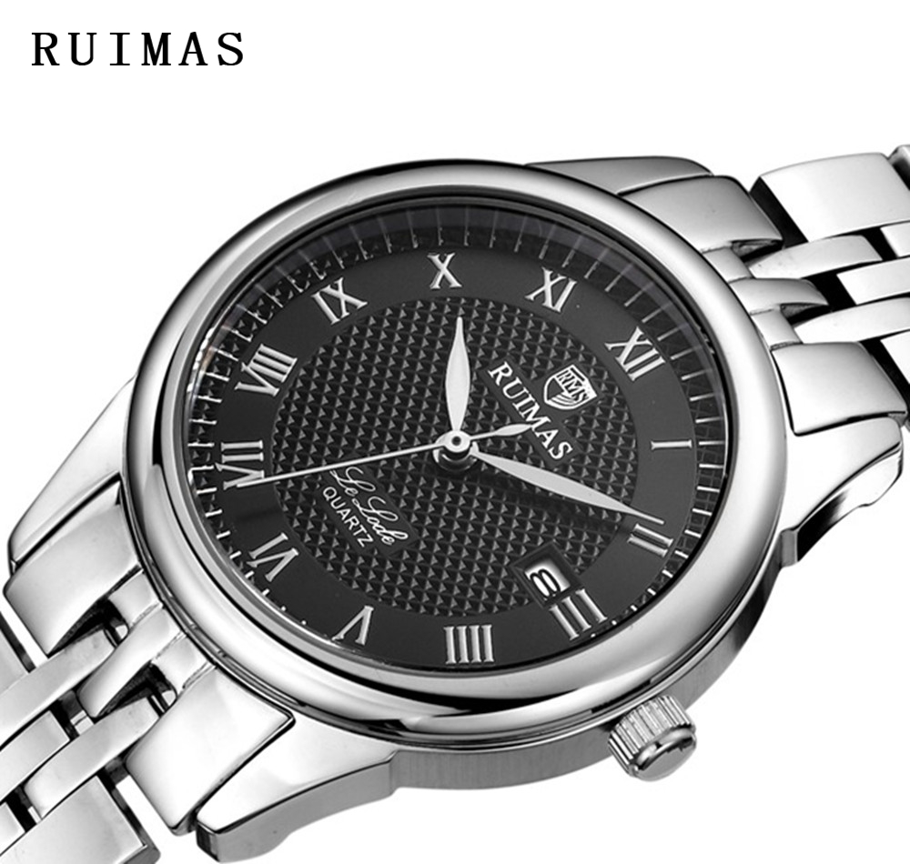 Big Sale RUIMAS Fashion Quartz Watch Klockor Klockor Luxury Safir - Damklockor