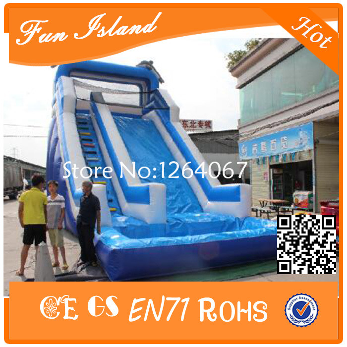Free Shipping Giant Inflatable Slide, inflatable Water Slide With Pool free shipping hot commercial summer water game inflatable water slide with pool for kids or adult