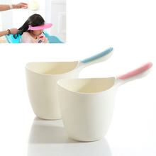 Baby Child Wash Hair Shampoo Rinse Cup Thick Bath Water Ladle Scoop for