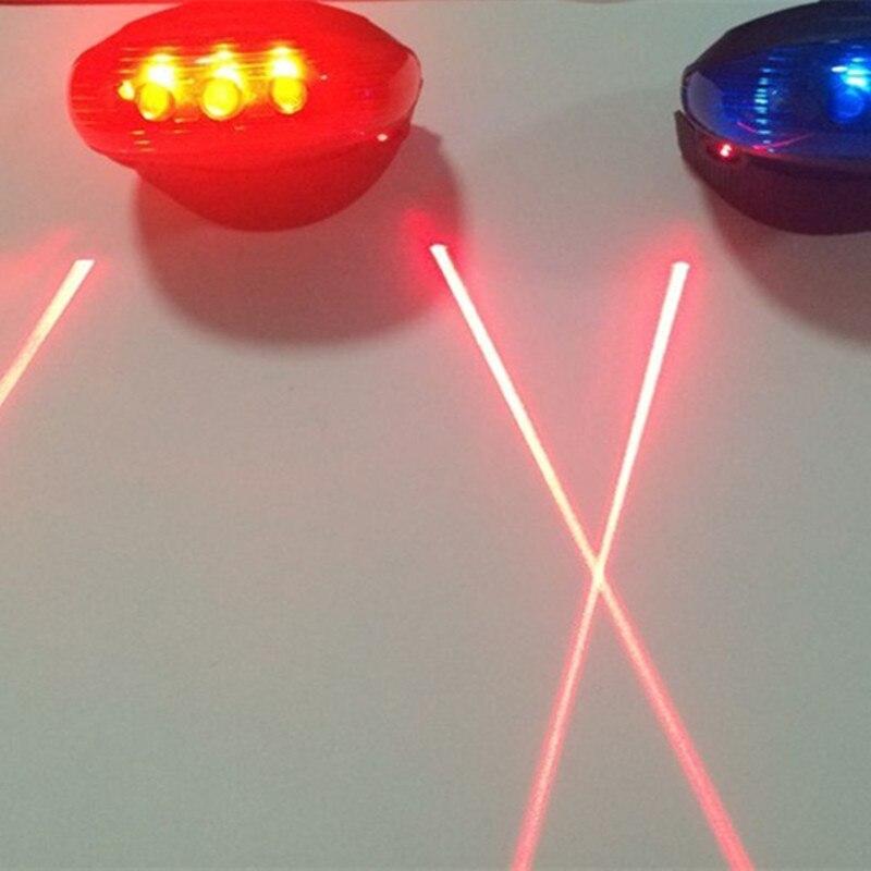 Ποδήλατο LED Φώτα ουράς ασφαλείας - Ποδηλασία - Φωτογραφία 6