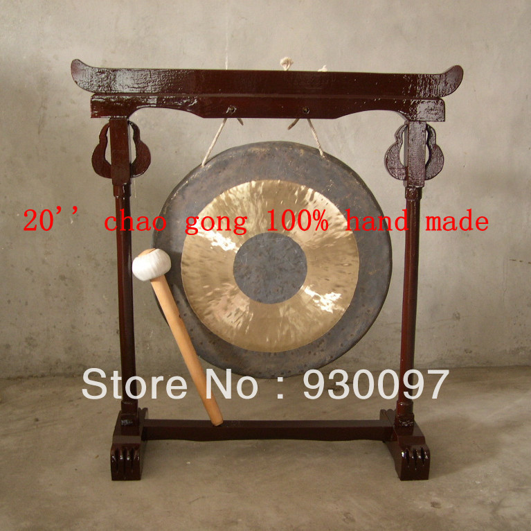 100% handmade GONG,chinese traditional 20chao GONG professional chinese 18 chau gong