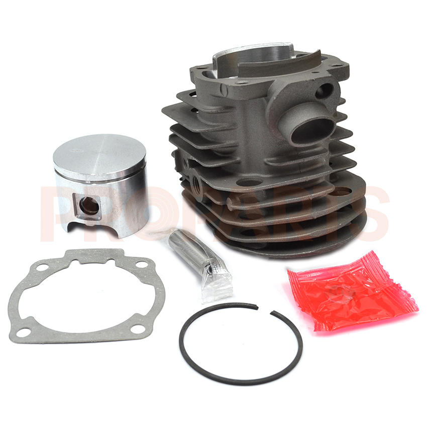 46mm Cylinder Piston Assembly Kit For Husqvarna 55 Motosierra Chainsaw Engine Spare Parts 38mm engine housing cylinder piston crankcase kit fit husqvarna 137 142 chaisnaw